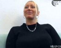 Blondine beim privaten Pornocasting